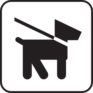 Dog leash clip art.