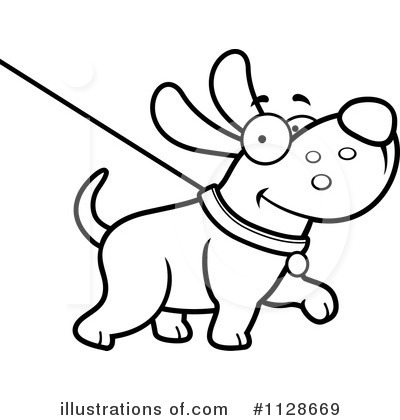 Clip Art Dog Leash Clipart.