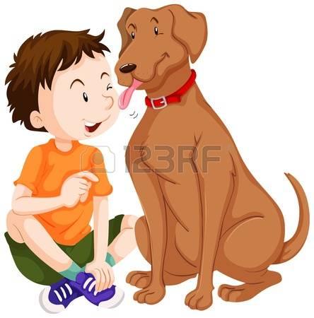 752 Dog Licking Stock Vector Illustration And Royalty Free Dog.
