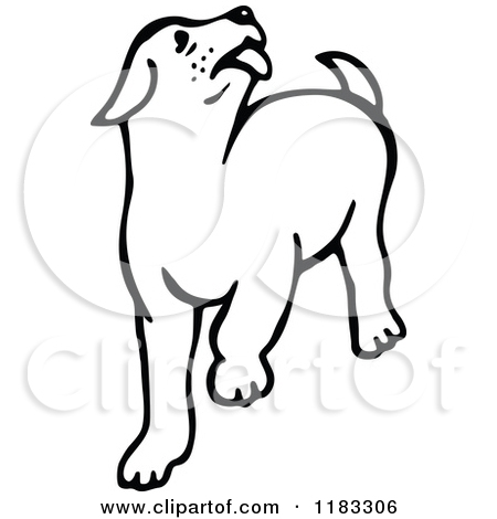 Dog Lick Clipart.