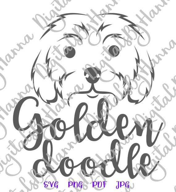 Dog Mom SVG Files for Cricut Golden Doodle Labradoodle Lover Clipart Print  t.