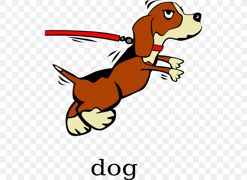 Basset Hound Puppy Dog Training Obedience Trial Clip Art.