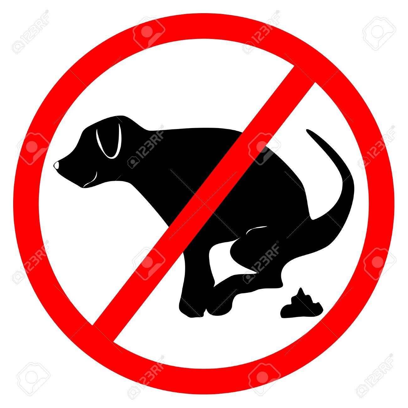 No Dog Dung Board Royalty Free Cliparts, Vectors, And Stock.