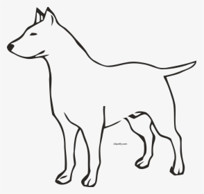 Hd Dog Outline Clipart Png.