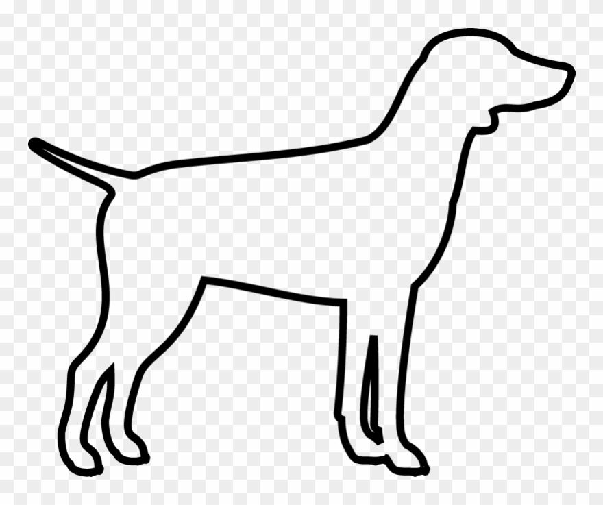 Dog Outline Png & Free Dog Outline.png Transparent Images.