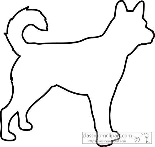 41827 Outline free clipart.