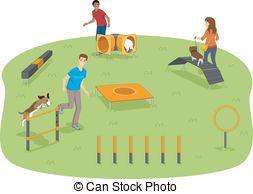 Dog park clipart 3 » Clipart Portal.