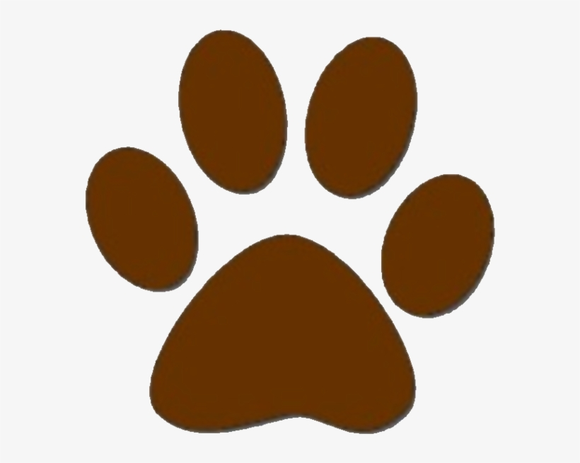 Dog Paw Prints Brown Dog Paw Print Clipart Free To.