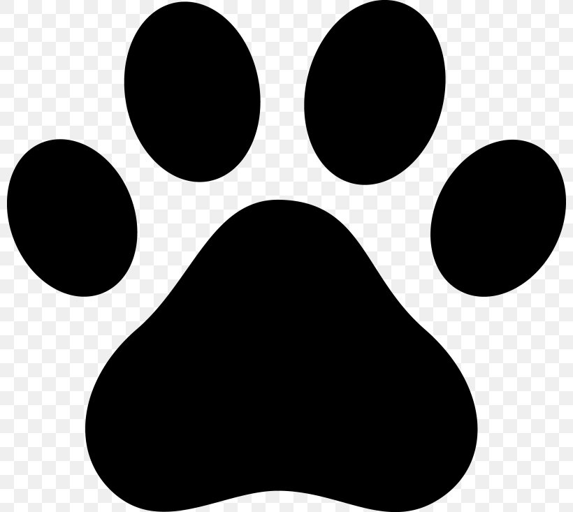Cat Dog Paw Decal Clip Art, PNG, 800x733px, Cat, Black.