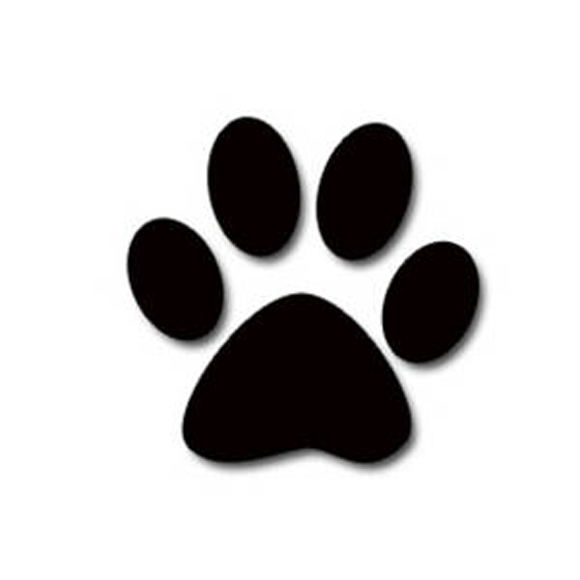 Dog Paw Print Clipart Real.