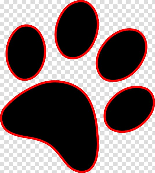 Dog Paw Wildcat Cougar , paw prints transparent background PNG.