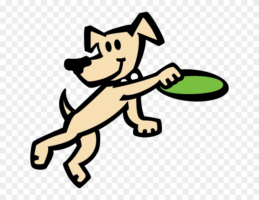 Frisbee Clipart Dog Play.