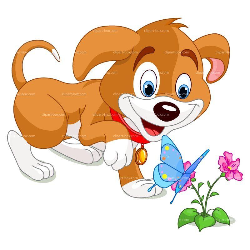 Clipart Dog Cartoon Style Royalty Free Vector Design 2015.