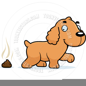 Free Clipart Of Dog Pooping.