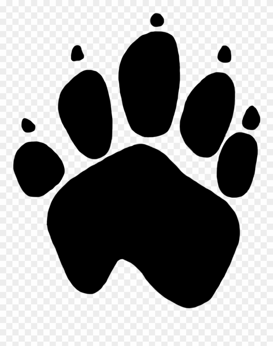 Image Royalty Free Dog Print Transparent Png.