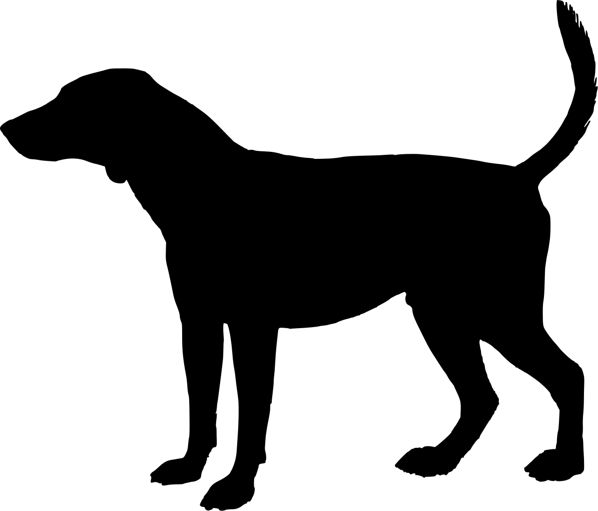 Free Dog Head Silhouette, Download Free Clip Art, Free Clip.