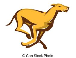 Greyhound dog racing Vector Clipart Royalty Free. 44 Greyhound dog.