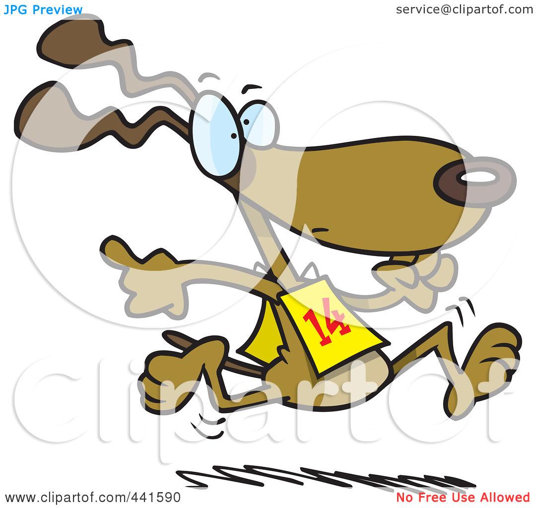 dog racing clip art - photo #9