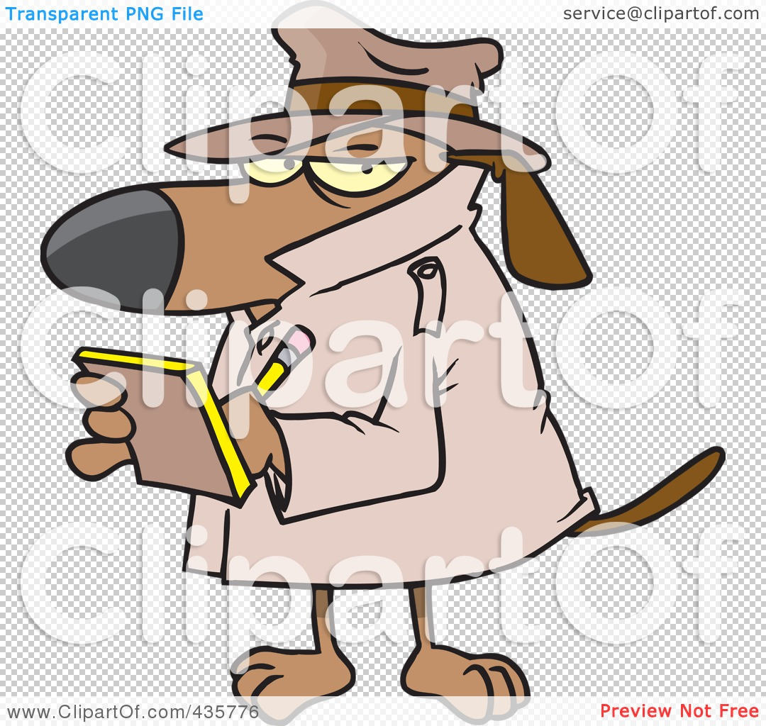 Watch Dog School Clipart.
