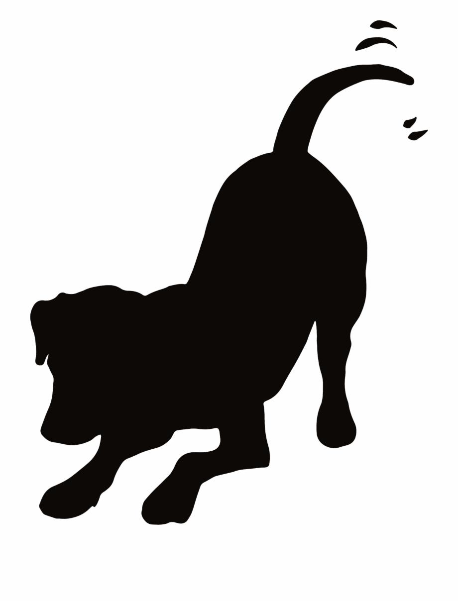 Dog Clip Art, Spiritual Meditation, Silhouette Clip.