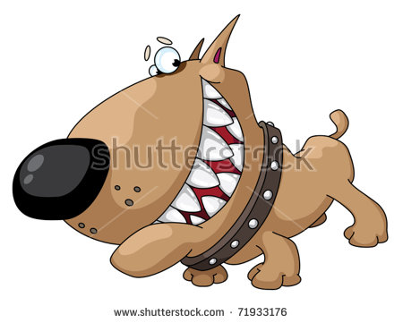 Cartoon Dog Stock Images, Royalty.