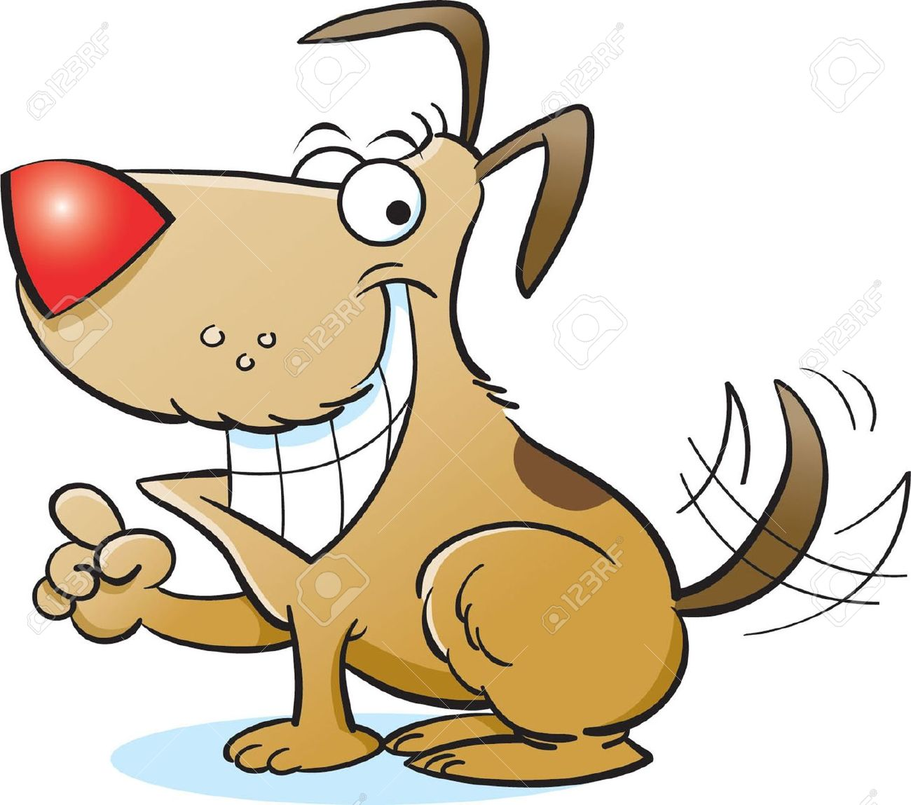 Dog smiling clipart - Clipground - photo#48