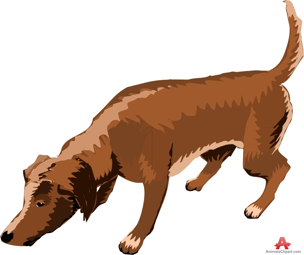 Dog sniffing clipart » Clipart Portal.
