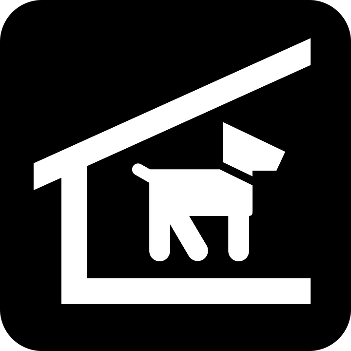 Free vector graphic: Doghouse, Dog Kennel, Dog Stable.