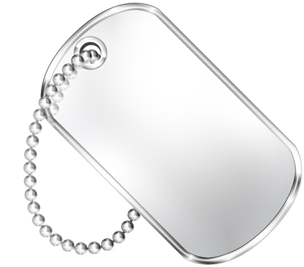 Dogtag Png Vector, Clipart, PSD.
