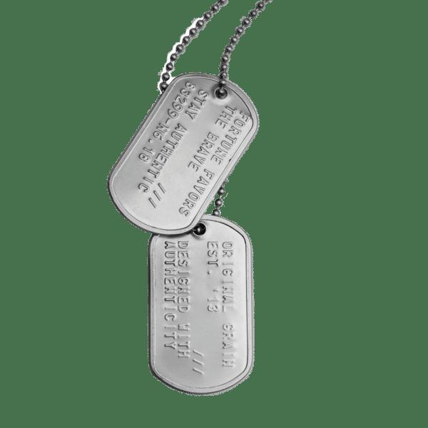 Military Dog Tag.