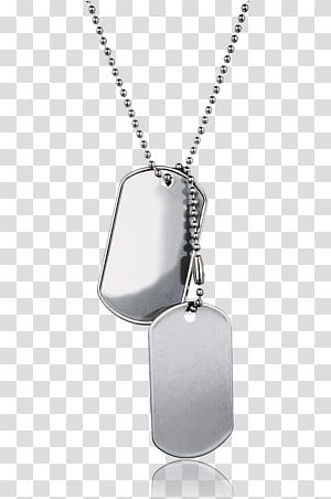 Dog tag Chain Soldier, Dog transparent background PNG clipart.