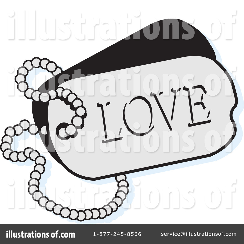 Dog Tags Clipart #1069443.