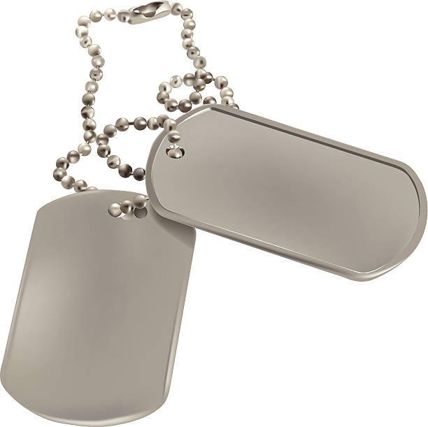 Best Military Dog Tag Illustrations, Royalty.