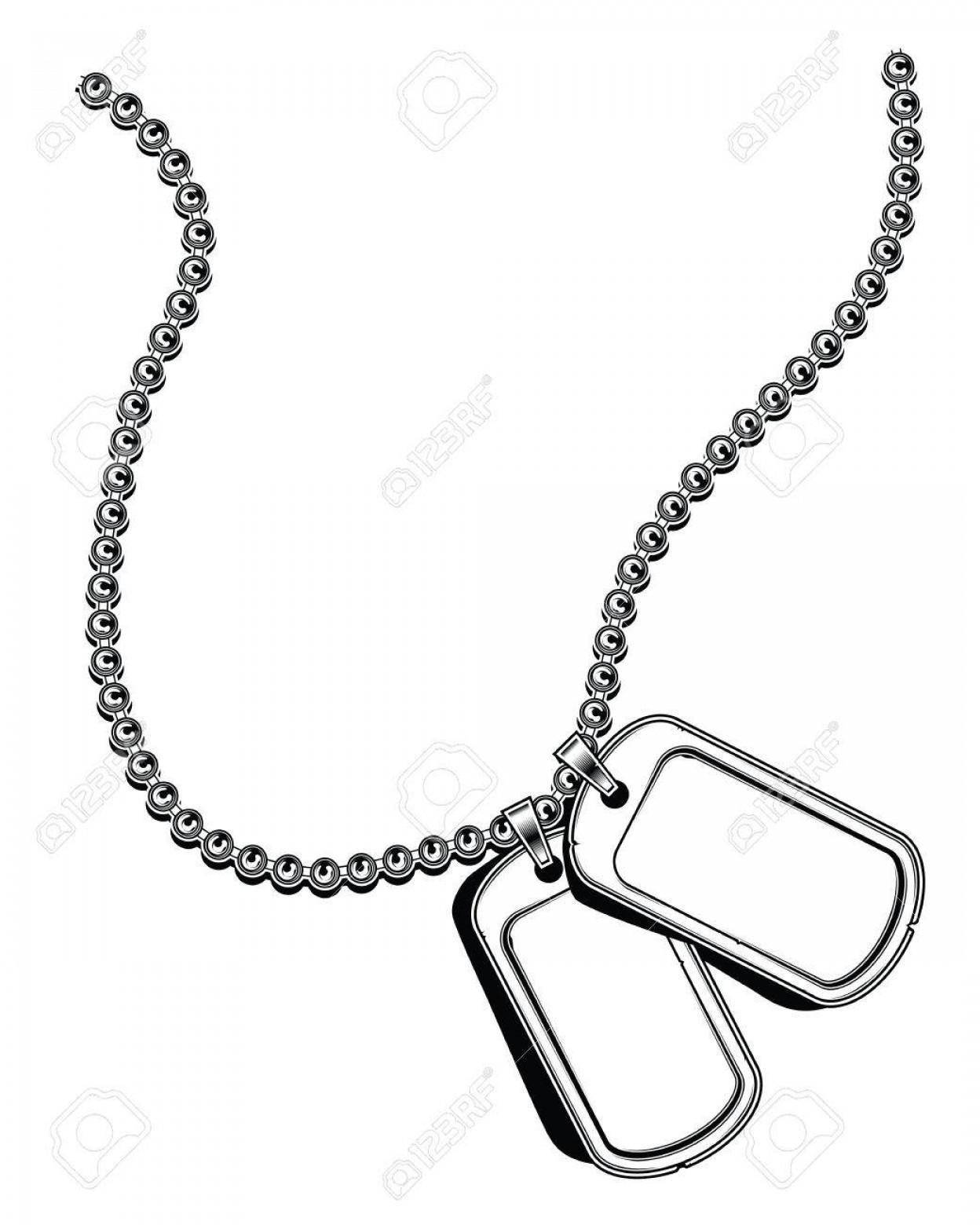 HD Silhouette Soldier Dog Tags Vector Images » Free Vector Art.