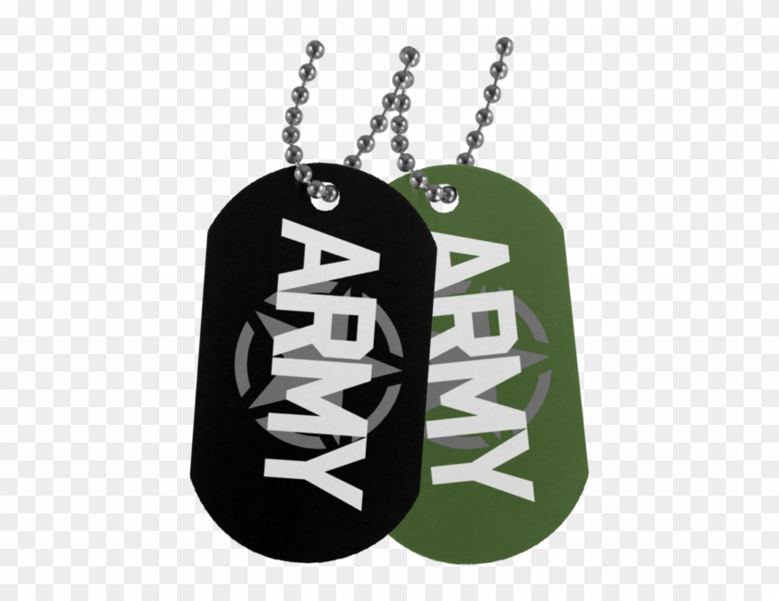 Army Dog Tags.