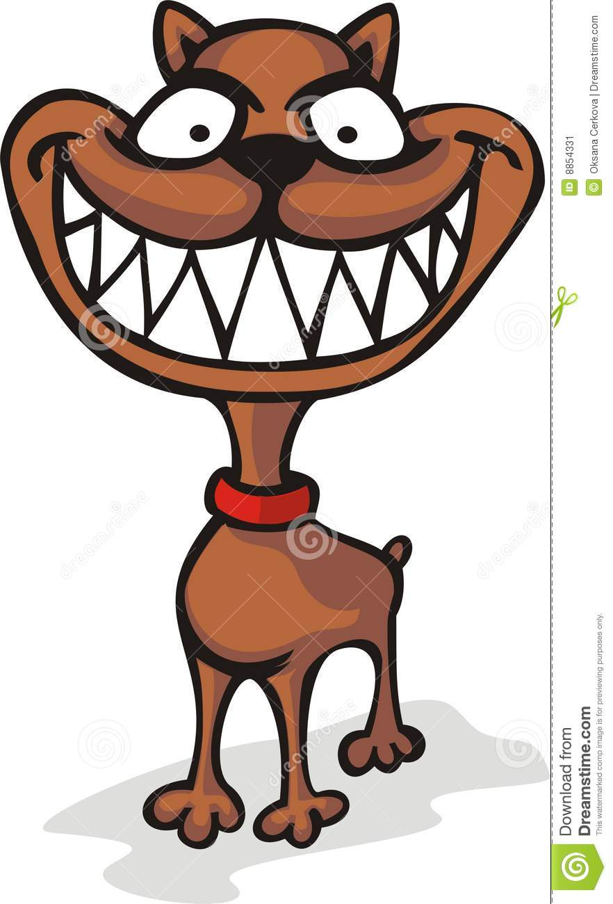 Dog teeth clipart.