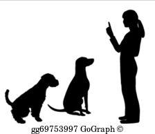 Dog Training Clip Art.