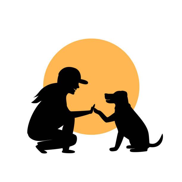Best Dog Training Illustrations, Royalty.