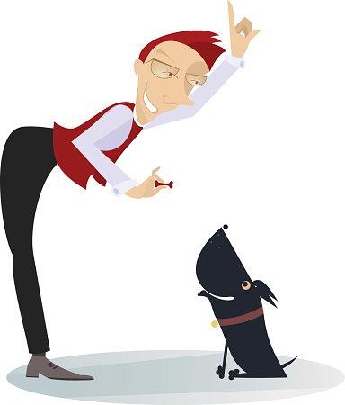 Dog Trainer premium clipart.