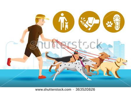 Dog Park Stock Vectors, Images & Vector Art.