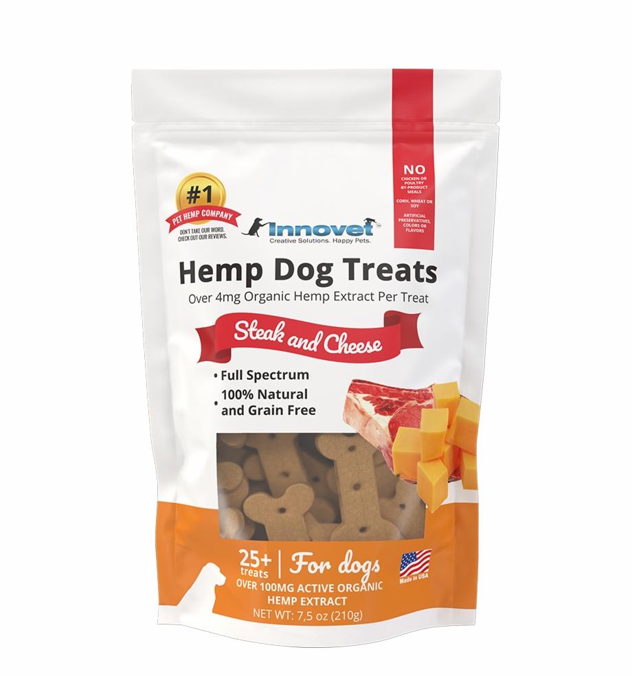 100% Natural Hemp Dog Treats For Anxiety.