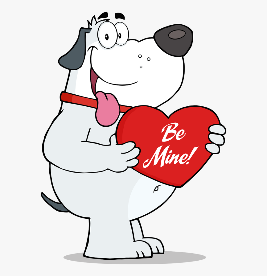 Dog Valentines Clipart Collection Png Free Stock.