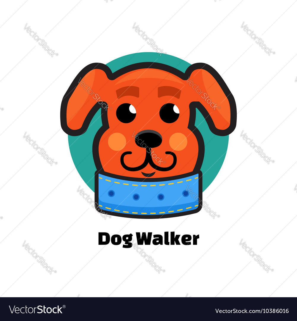 Dog Walker logo Dog logo Logo veterinarian clinic.