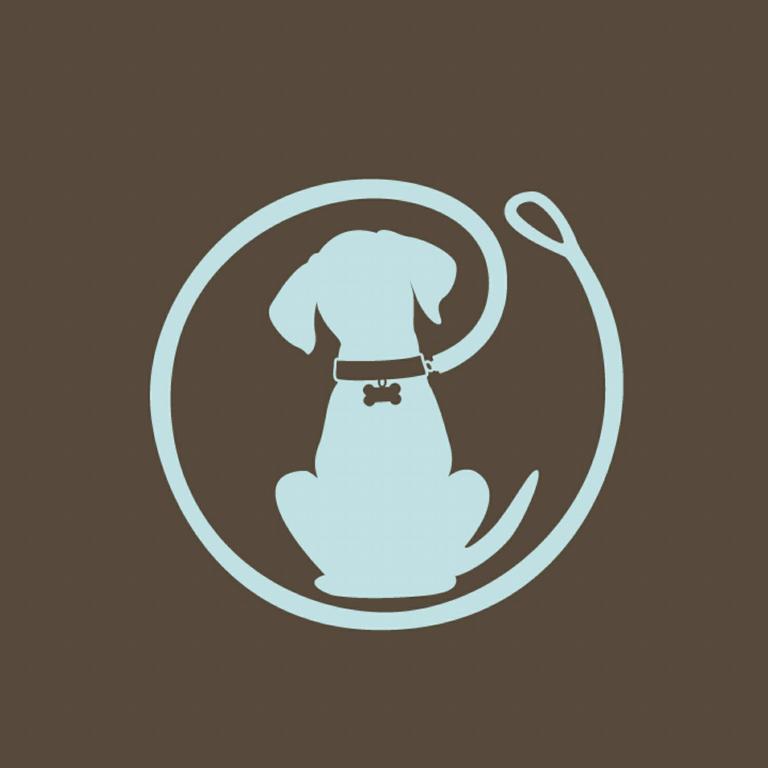 Dog walking Logos.