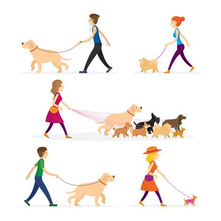 8,189 Dog Walking Cliparts, Stock Vector And Royalty Free Dog.