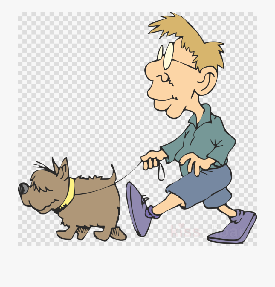 Dog Walker Clipart.