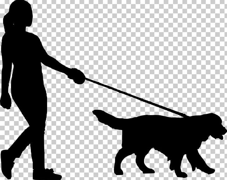 Dog Walking Pet Sitting PNG, Clipart, Animals, Black, Black.