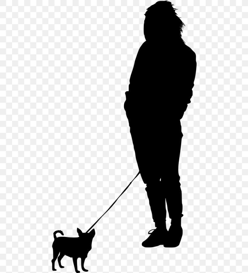Dog Walking Silhouette Clip Art, PNG, 480x904px, Dog, Black.