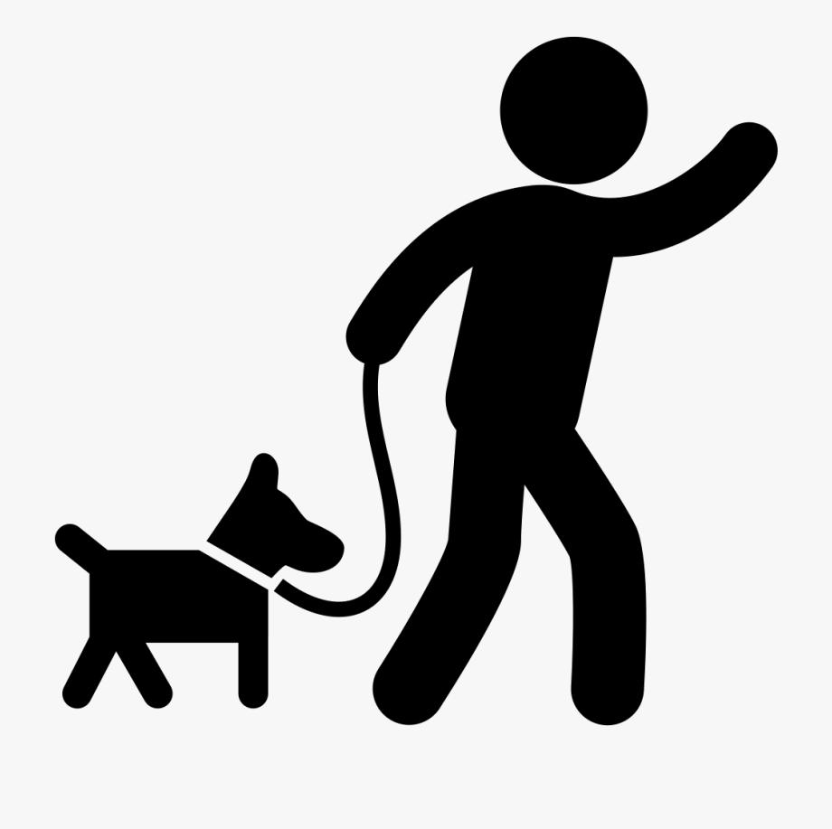 Dog Walking Png.