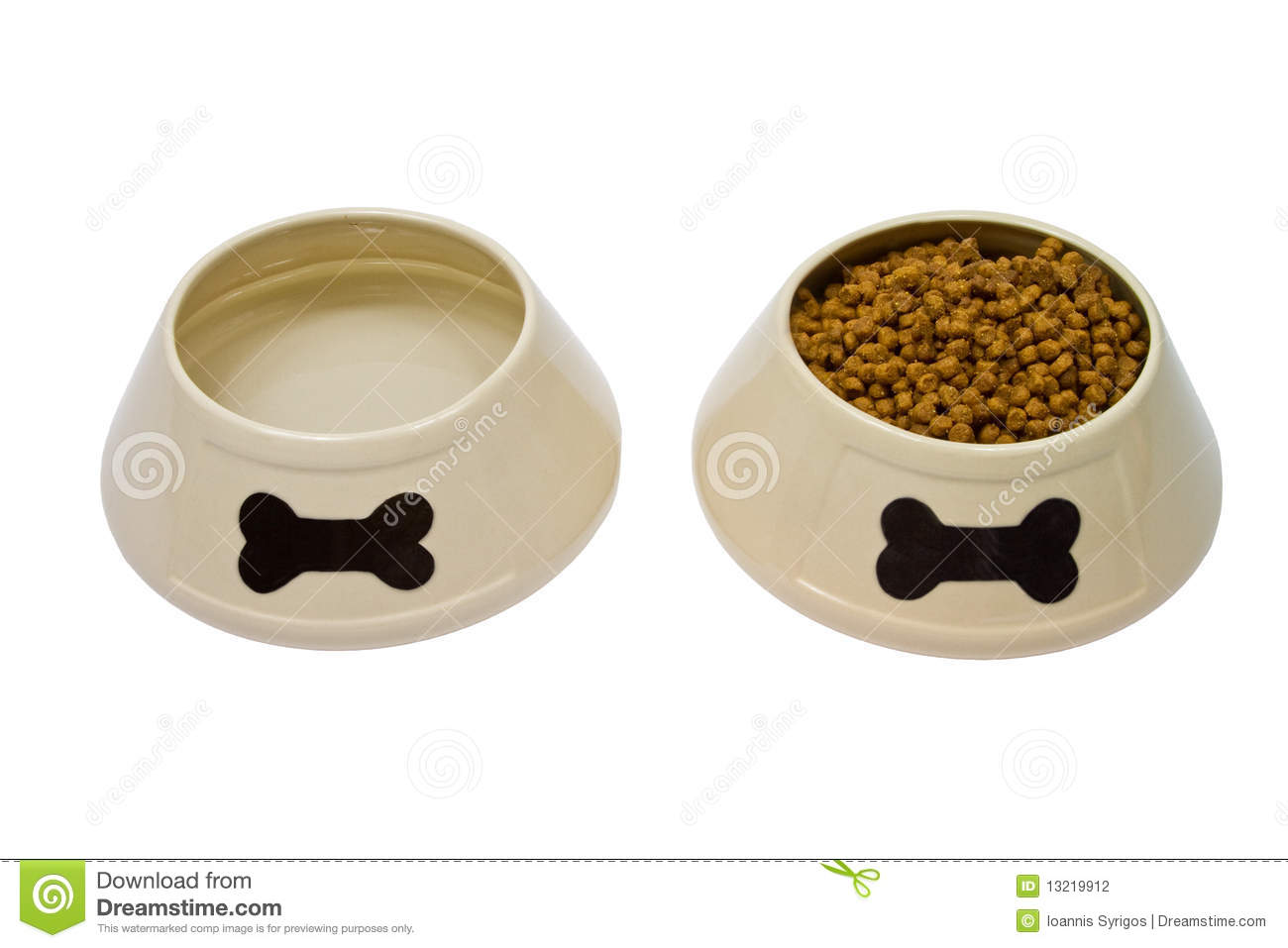 Clip Art Water Bowls For Dogs Clipart.